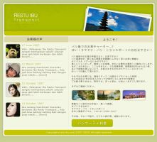 Restu Ibu Web interfaces by todoroki