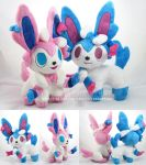Pokemon Time Sylveons by MagnaStorm