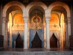 Athens Cathedral entrance by etsap
