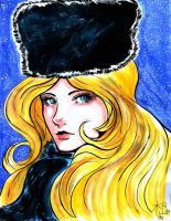 Galaxy Express 999 Maetel by D-MATSUYAMA