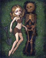 Shallow Grave by jasminetoad