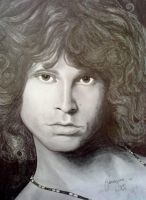 Jim Morrison by georginaflood