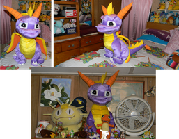 My Big-O-Spyro Plush by Cattensu