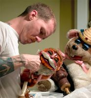 Awesome Show Puppets by ol-skratch