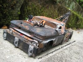 Wrecked wrecker model by RedlineGearhead