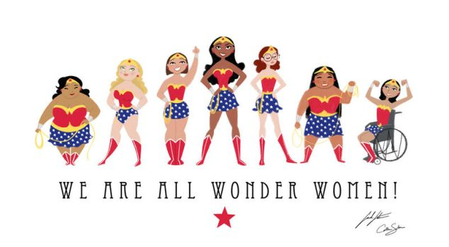 We Are All Wonder Women! by SarahSatrun