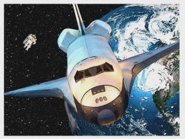 Space Shuttle by Gilles-Marchand