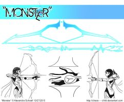 Month of ''Monster'' - Day 27 - Alpha's Weapon by Chaos--Child