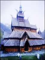 Viking Church by Ishmakey