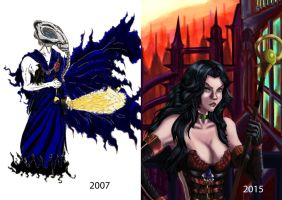 2007 vs 2015 by fmralchemist