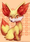 Fennekin by blacksapphiredragon