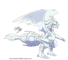 Mega Reshiram by Blood-Asp0123