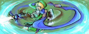 Paintchat - Hyrule Warriors Link by MarvelousCoconuts