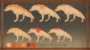 Baldolor-wolf, Firebacks by Roiuky