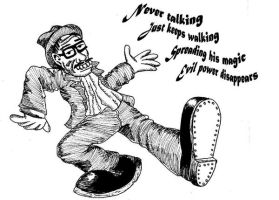 Robert Crumb: The Wizard by cuervoscuro