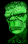 live graffiti hulk by artildawn