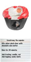 MLP Livestrong cupcake by DreamsandPassion