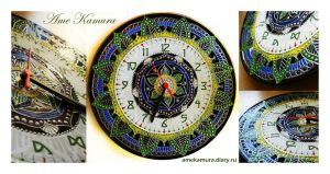 the clock by AmeKamura