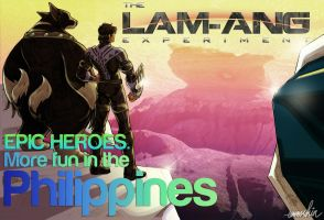Epic Heroes of the Philippines by emmshin