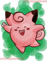 Day 28: Clefairy by Pokeaday