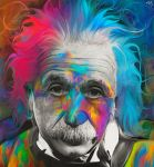 Albert Einstein by NickyBarkla