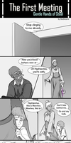 First meeting - Gentle Hands of Steel (Extra) by DasUnicorm