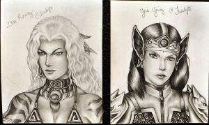 Real Women Warriors by Faerlyte