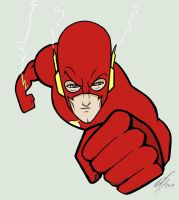 Flash toon by Kryptoniano