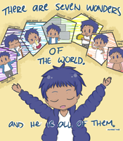 The 7 Wonders of the World by aprilrainmayblossom