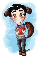 Puppy Blaine by Sunshunes