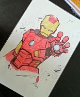 Iron Man FCBD2014 by kaicastle