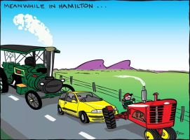 Meanwhile in Hamilton  by Sopecartoons