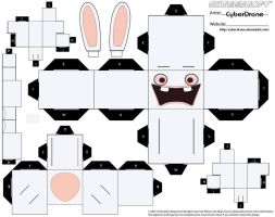 Cubee - Raving Rabbid by CyberDrone