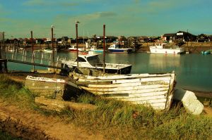Walberswick boats - Suffolk by PhilsPictures