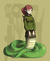 Monstober Day 4: Naga by Vertigheist
