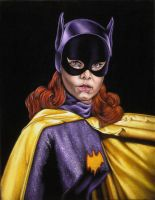 Yvonne Craig as...Batgirl by BruceWhite