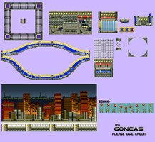 Neo Chemical Plant - Sprite Sheet by goncas23