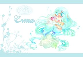 Awefully Cute Chibi Evina by Mallemagic