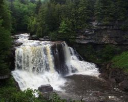 Blackwater Falls by aPatchworkProduction