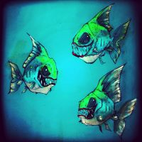 Piranha by mechacarassius