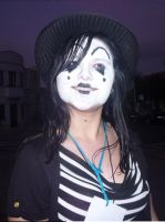 Me as a mime by AdrixCosta