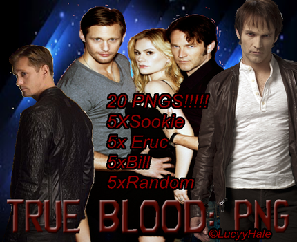 True Blood PNG Pack 1 by LucyyHale