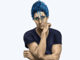 Whatcha thinking, Grimmjow? by miss-elli