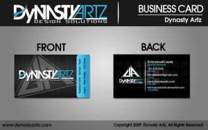 Dynasty Artz Business Cards by DynastyArtz