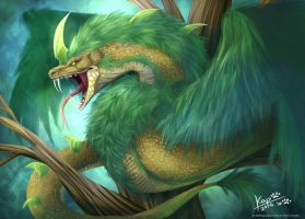 Plumed serpent by rglcs0606
