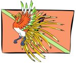 Mystery Dungeon: Ho-Oh by Iron-Zing