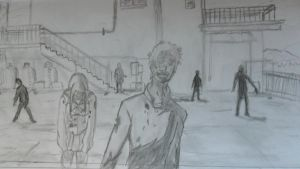 H.O.T.D. Ep. 1 Zombie Scene by SoulHound568