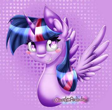 Twilight Sparkle by causticfiredrake