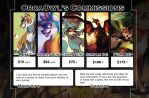 Commission Sheet 2015 by OrcaOwl