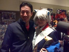 [Setsucon 2013] Me and Todd Haberkorn...Again XD by melodious-nightfall